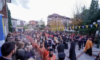Η θαυματουργή Εικόνα της Παναγίας Σουμελά στα Τρίκαλα Θεσσαλίας