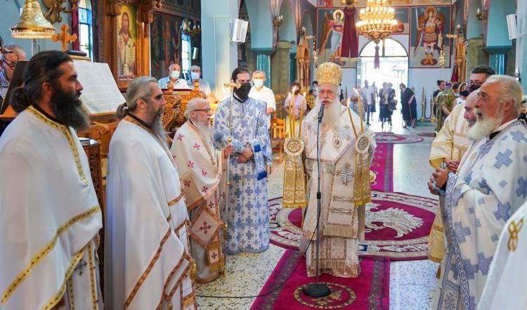 Πανηγύρισε ο Ιερός Ναός του Προφήτου Ηλιού στο Άνω Ζερβοχώρι