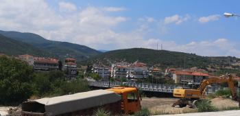 Συνεχίζονται τα έργα διαμόρφωσης στη γέφυρα Κούσιου