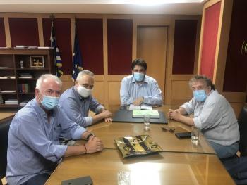 Συνάντηση ΣΗΠΕ-ΕΙΕΤ-ΕΔΙΠΤ με τον υφυπουργό στον πρωθυπουργό Θ. Λιβάνιο