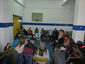 Επίσκεψη ομάδας μαθητών του 3ου Γυμνασίου Νάουσας στο ΕΕΕΕΚ