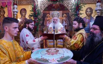 Πανηγύρισε ο Ιερός Ναός της Αγίας Βαρβάρας του ομώνυμου Δημοτικού Διαμερίσματος Βεροίας