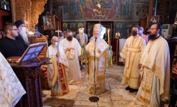 Πανηγύρισε η Ιερά Μονή του Τιμίου Προδρόμου Σκήτης Βεροίας