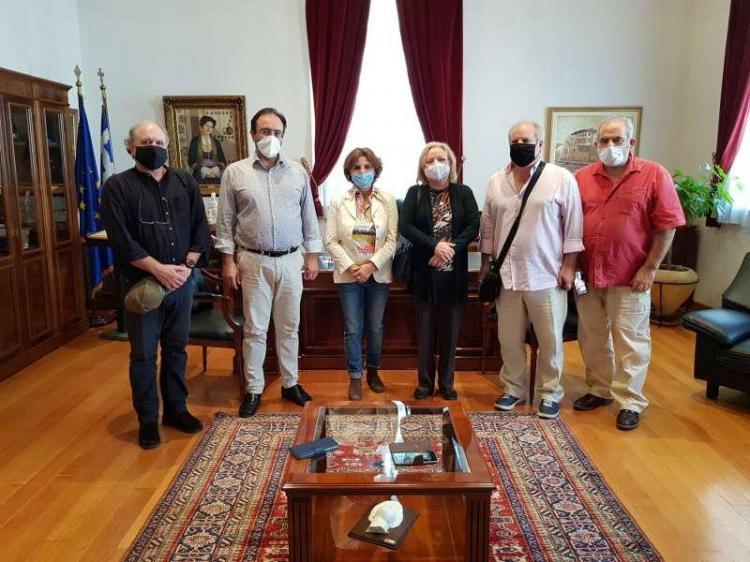 Η πρέσβειρα της Κούβας στο Δημαρχείο Βέροιας