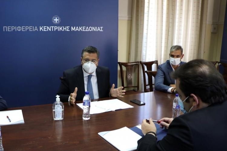 Συνάντηση του Απ.Τζιτζικώστα με τον Υπουργό Ψηφιακής Διακυβέρνησης Κ. Πιερρακάκη και τους Υφυπουργούς Γ. Γεωργαντά και Θ. Λιβάνιο