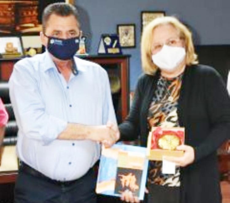 Η Κούβα δεν είναι μόνη της : Στη Βέροια βρέθηκε 10 και 11/9 η πρέσβειρα της Κούβας
