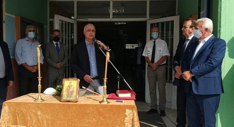Στην Αλεξάνδρεια ο Λάζαρος Τσαβδαρίδης με αφορμή την έναρξη της σχολικής χρονιάς
