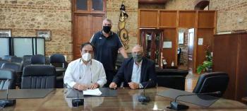 Υπογραφή σύμβασης «Καινοτόμες ψηφιακές υπηρεσίες Τουριστικής προβολής της πόλης της Βέροιας»