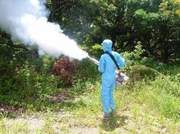 Ψεκασμός κατά των ακμαίων κουνουπιών σήμερα στον οικισμό Τριλοφιάς