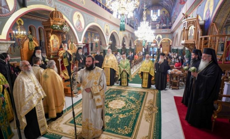 Με λαμπρότητα εορτάστηκε η Παγκόσμιος Ύψωσις του Τιμίου και Ζωοποιού Σταυρού στην Κοζάνη