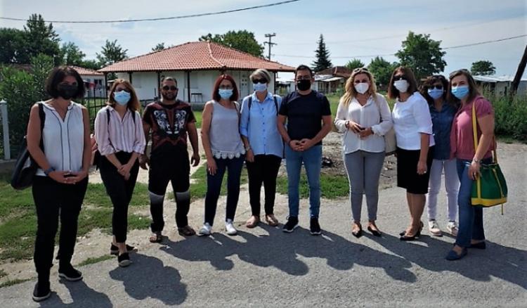 Επίσκεψη του γενικού γραμματέα Κοινωνικής Αλληλεγγύης και Καταπολέμησης της Φτώχειας στις Κοινωνικές Δομές του Δήμου Αλεξάνδρειας