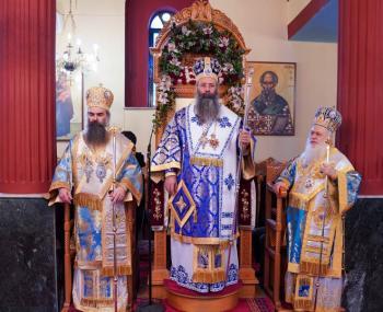 Με συλλείτουργο ολοκληρώθηκαν οι εορτασμοί του Ιωβηλαίου των 100 χρόνων του Ι.Ν. Αγίου Νικολάου