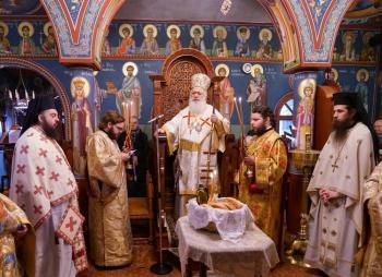 Η εορτή του Αγίου Αμβροσίου στην αδελφότητα ΠΕΛΕΚΑΝ Βεροίας