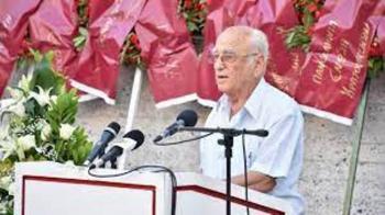 Κώστας Σαπρανίδης : «Τίποτε δεν πάει χαμένο από τους αγώνες και τις θυσίες του λαού»
