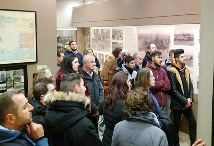 Μαθητές του Εσπερινού Λυκείου και Γυμνασίου Βέροιας επισκέφτηκαν το Βλαχογιάννειο Μουσείο