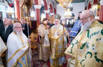 Αρχιερατική Θεία Λειτουργία στον Ιερό Ναό Αγίου Νικολάου Ανατολικού Θεσσαλονίκης