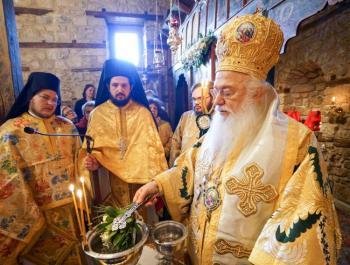 Πανηγύρισε το βυζαντινό παρεκκλήσιο του Αγίου Παταπίου στη Βέροια