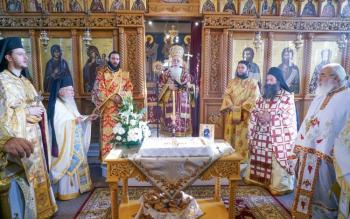 To Τεσσαρακονθήμερο μνημόσυνο του μακαριστού Ιερέως Πρωτ. Γεωργίου Σαράφη στην Πρασινάδα