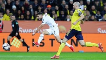 Ήττα της Ελλάδας από τη Σουηδία με 2-0 και θέλει το δύο στα δύο για να ελπίζει σε πρόκριση στο Μουντιάλ