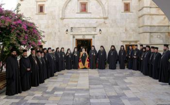 Ενθρόνιση Ηγουμένου στην Ιερά Μονή Παναγίας Τουρλιανής Μυκόνου και εγκαίνια παρεκκλησίου των Αγίων Πορφυρίου, Παϊσίου και Ιακώβου