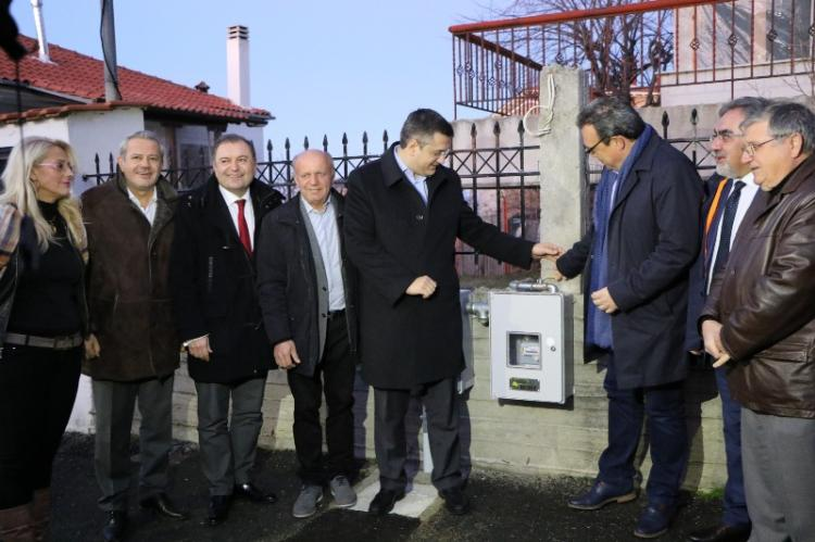34 εκ. ευρώ για την επέκταση του δικτύου φυσικού αερίου σε όλη την κεντρική Μακεδονία διαθέτει η περιφέρεια