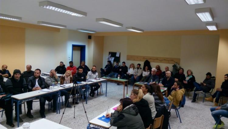 Ενημέρωση των εκπαιδευόμενων του ΣΔΕ Νάουσας σχετικά με τις δυσκολίες μετακίνησης των ΑμεΑ