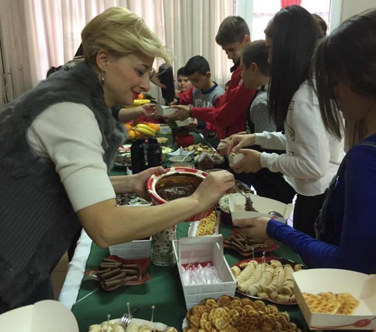Η Εύξεινος Λέσχη Χαρίεσσας συνεχίζει για 5η εβδομάδα τις Χριστουγεννιάτικες δράσεις