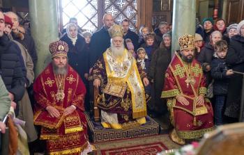 Η πανήγυρις της Αγίας Βαρβάρας στην πόλη Λβιβ της Δυτικής Ουκρανίας