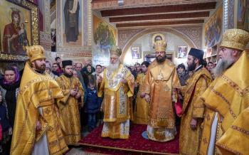 Η πανήγυρις του Αγίου Νικολάου στην Ιερά Μονή Κοιμήσεως Θεοτόκου Ζύμνο της Δυτικής Ουκρανίας