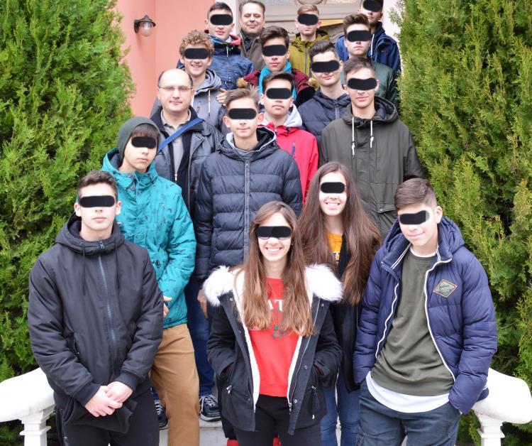 Μαθητές του 5ου Λυκείου της Βέροιας επισκέφτηκαν την Πέμπτη το Βλαχογιάννειο μουσείο