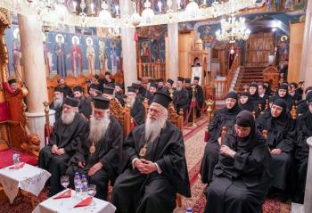 Σύναξη Μοναχών και Μοναζουσών της Ιεράς Μητροπόλεως Βεροίας στην Ιερά Μονή Παναγίας Δοβρά