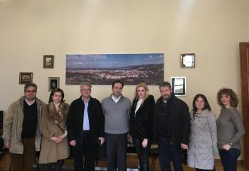 Επίσκεψη εκπροσώπων του νέου Δ.Σ. του Συλλόγου Βλάχων στο Δήμαρχο Βέροιας