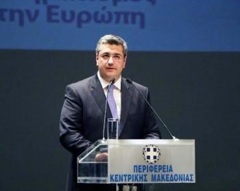 Παρέμβαση του περιφερειάρχη Κ.Μακεδονίας Απ.Τζιτζικώστα για το σκοπιανό σε ομιλία του στο επαγγελματικό επιμελητήριο Θεσ/νίκης