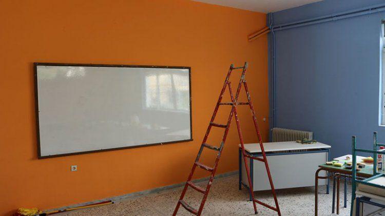 Εργασίες συντηρήσεων σχολικών κτιρίων υλοποιεί ο Δήμος Νάουσας