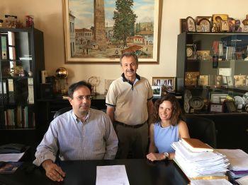 Σύμβαση για την περίφραξη δημοτικού ακινήτου στα Ασώματα υπέγραψε ο Δήμαρχος Βέροιας