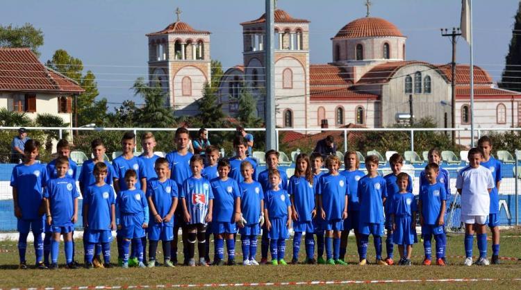 Οι δραστηριότητες της Ποδοσφαιρικής Ακαδημίας Μέγας Αλέξανδρος