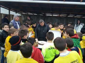 Κοπή πίτας της Ακαδημίας Ποδοσφαίρου Πατρίδας «Ευστάθιος Χωραφάς»