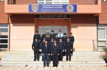 Τελετή απονομής πιστοποιητικών σπουδών σε 13 αστυνομικούς στη Σχολή Αστυνομίας στο Πανόραμα Βέροιας