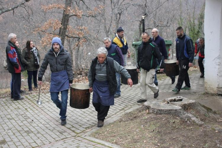 Το «μακεδονικό» επισκίασε το κουρμπάνι στο Αρκοχώρι!
