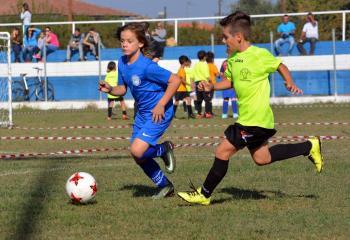 Η Δράση των τμημάτων της Ποδοσφαιρικής Ακαδημίας Μέγας Αλέξανδρος Αγίας Μαρίνας για το Σαββατοκύριακο