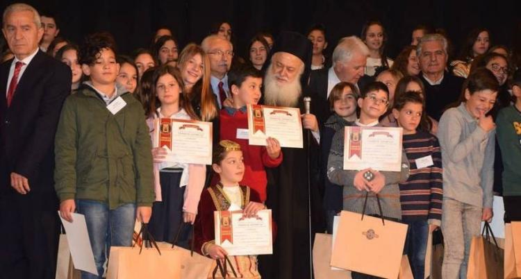 Με μεγάλη επιτυχία πραγματοποιήθηκε την Κυριακή η «Γιορτή των Γραμμάτων» στο κατάμεστο Δημοτικό Θέατρο Νάουσας
