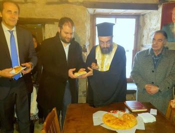 Μια παραδοσιακή «αριστοτελική» πίτα σε ένα σπίτι Μακεδονομάχων!