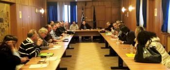 Σύσκεψη του Υφυπουργού ΥπΑΑ&Τ Β. Κόκκαλη με τους Προέδρους των ΓΟΕΒ της χώρας