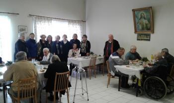 Επίσκεψη του Λυκείου Ελληνίδων Βέροιας στο Γηροκομείο