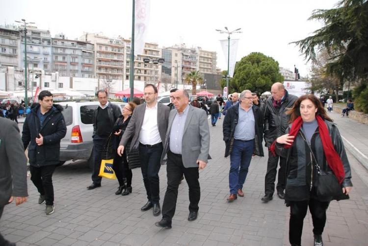 Επίσκεψη του Θανάση Θεοχαρόπουλου στην 27η Agrotica