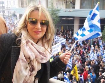 Στο συλλαλητήριο των Αθηνών η πρόεδρος!