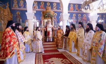 Πανηγύρισε o Ιερός Ναός του Αγίου Φωτίου Βεργίνης