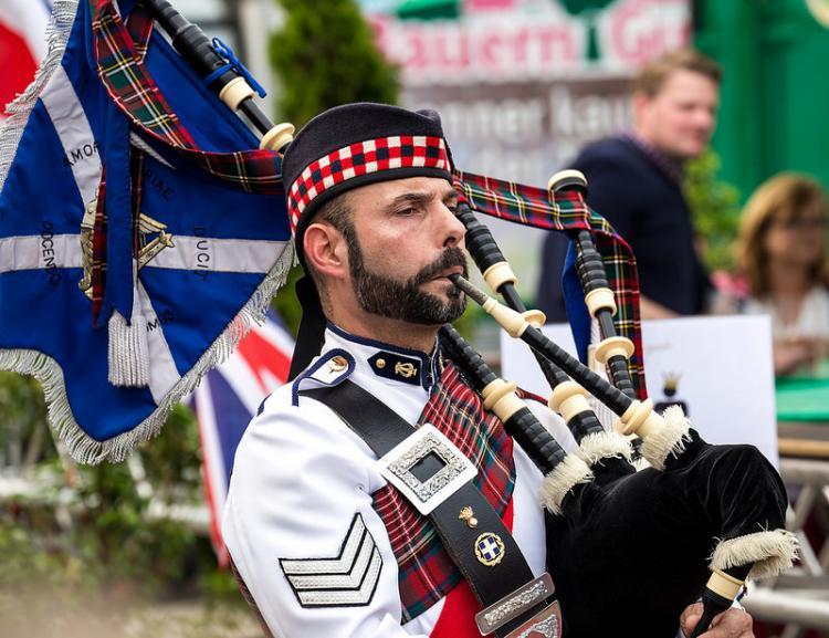 Η παραδοσιακή κέλτικη μπάντα «Celtic Highlanders Band, Pipes & Drums» στις εκδηλώσεις της φετινής Αποκριάς