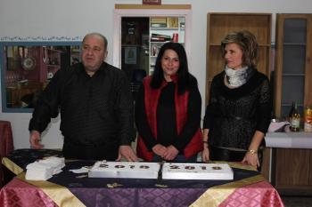 Ο πολιτιστικός σύλλογος «Ο Προμηθέας» έκοψε την πρωτοχρονιάτικη πίτα