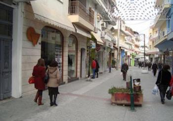 Ανακατασκευή του πεζοδρομημένου κέντρου της Βέροιας με το Σχέδιο Βιώσιμης Αστικής Ανάπτυξης